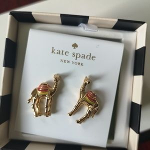 Kate Spade camle earrings
